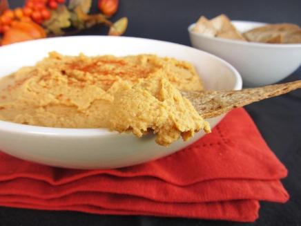 spicy pumpkin hummus