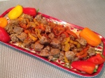 orange-ginger-chicken-sausage-with-sweet-peppers