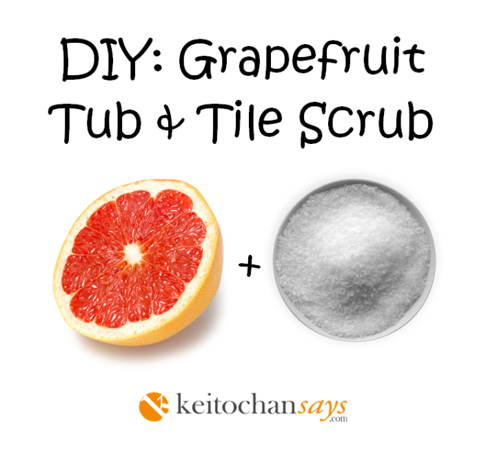 DIY GRAPEFRUIT TUB-TILE
