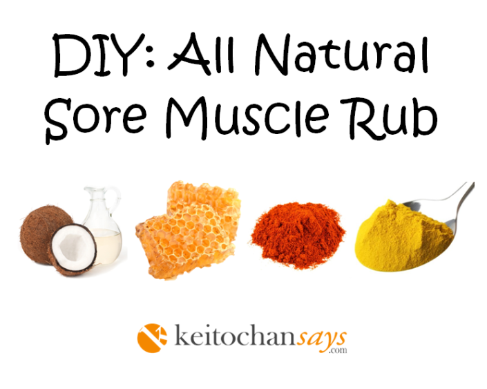 DIY MUSCLE RUB